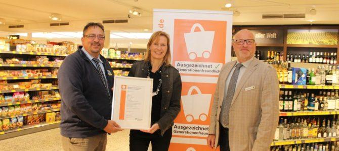 Generationenfreundliches Einkaufen in Leck – wieder Auszeichnung für EDEKA