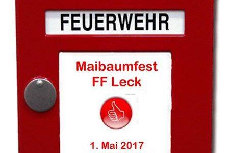 Maibaumfest der Freiwilligen Feuerwehr Leck…