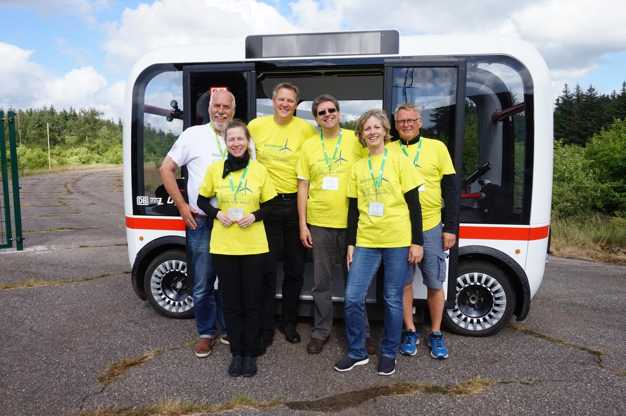 Testfahrt: GreenTEC Campus Team im Juni 2017