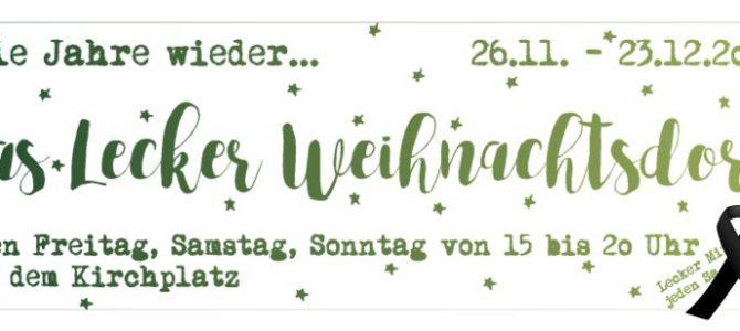 """[22] Lecker Weihnachtsdorf 2016 """"reloaded"""""""