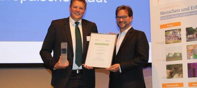 Grüner Gewerbepark GreenTEC Campus gewinnt Sonderpreis des Bundes