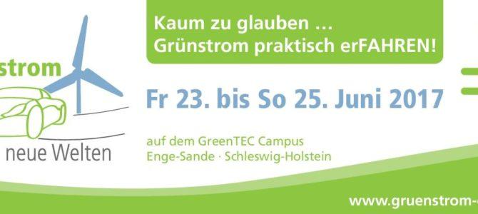 """2. Grünstrom-Event """"Grünstrom erfährt neue Welten"""""""